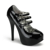 TEEZE-05 Black Patent, Size 8